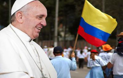 visita do Papa Francisco à Colômbia